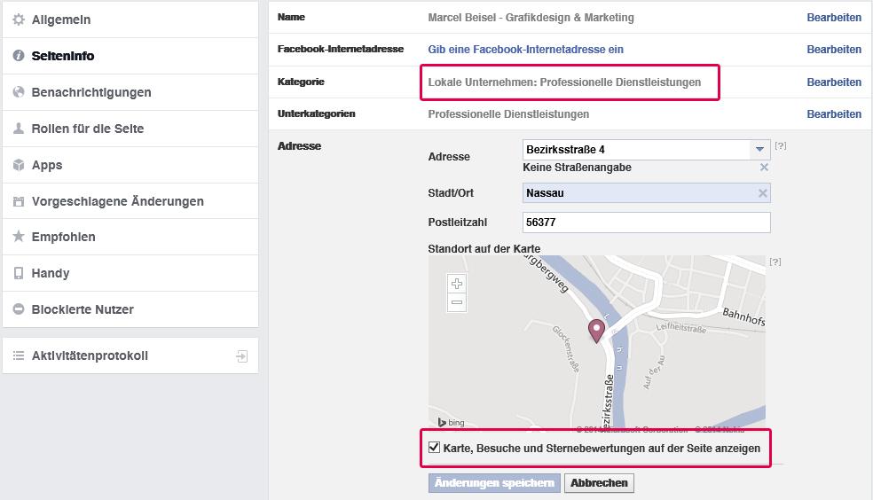 Anleitung zur Einbindung von Facebook Bewertungen / Rezensionen auf Unternehmensseiten